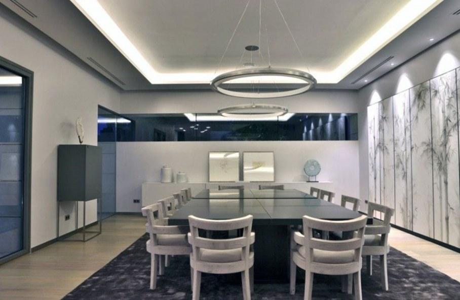A modern villa in Spain - dining room 1