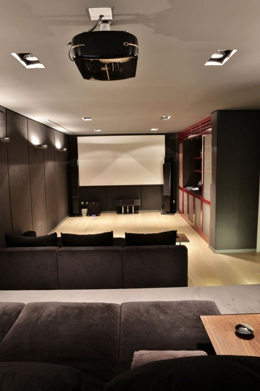 A modern villa in Spain - home cinema 1