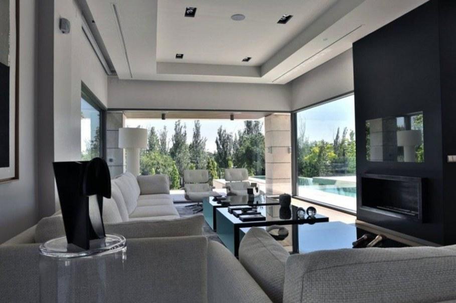 A modern villa in Spain - living room 2