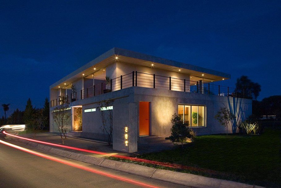 Bitar Arquitectos Studio The House of Glass And Concrete In Mexico 1
