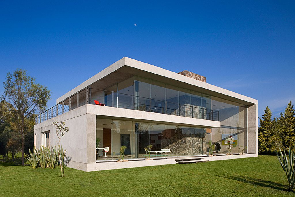 Bitar Arquitectos Studio The House Of Glass And Concrete In Mexico
