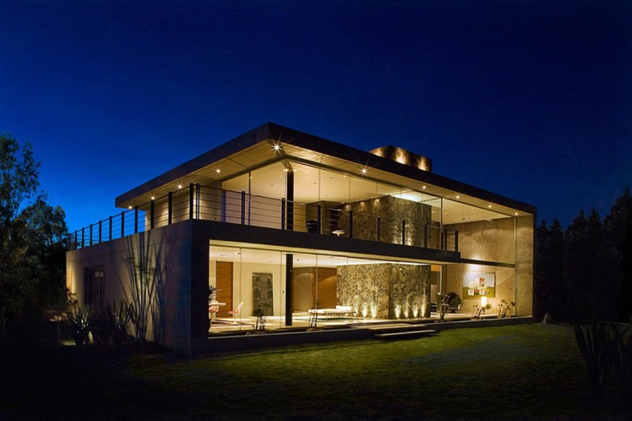 Bitar Arquitectos Studio The House of Glass And Concrete In Mexico 2