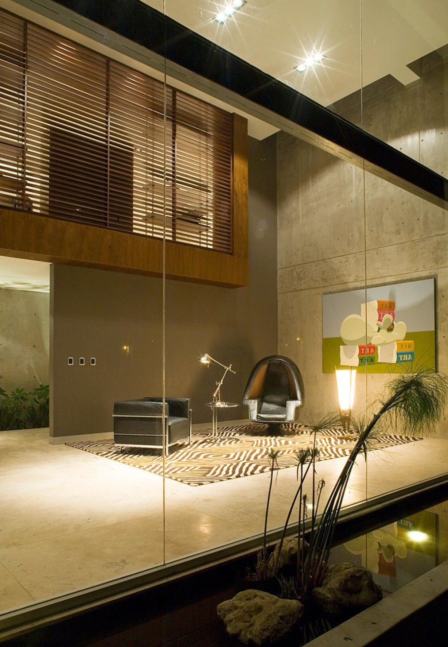 Bitar Arquitectos Studio The House of Glass And Concrete In Mexico 3