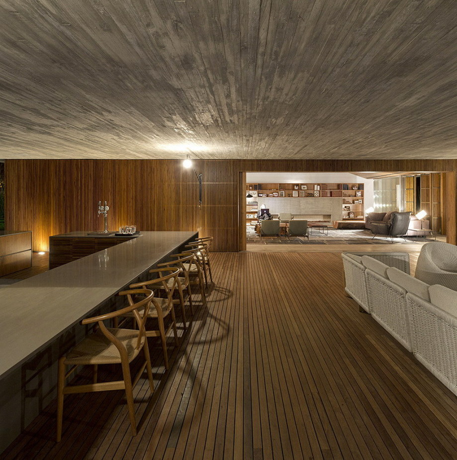 Casa MM house by architects from Studio MK27 in Brazil 18