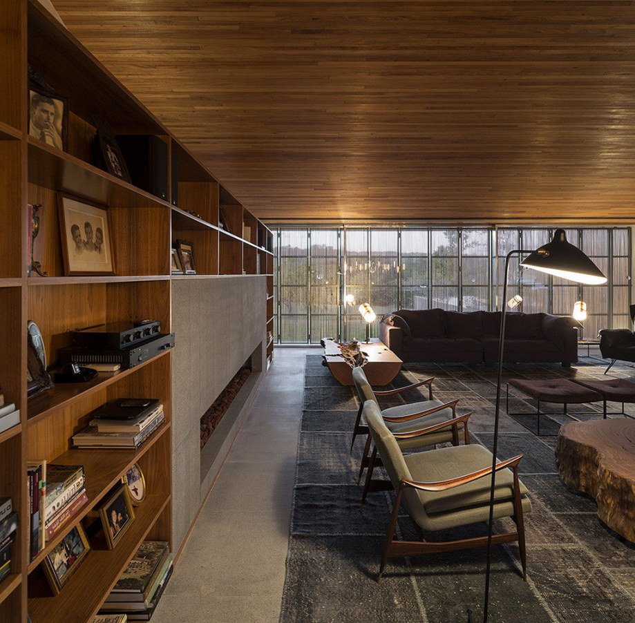 Casa MM house by architects from Studio MK27 in Brazil 21