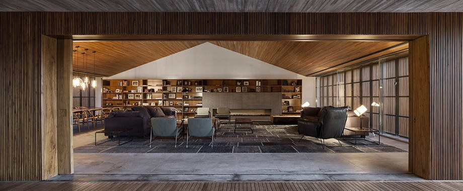 Casa MM house by architects from Studio MK27 in Brazil 23