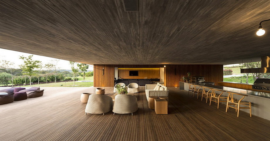 Casa MM house by architects from Studio MK27 in Brazil 24
