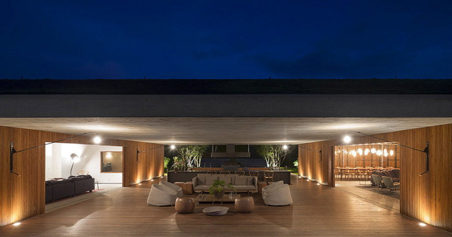 Casa mm house by architects from studio mk27 in brazil - Studio ontwikkeling m ...