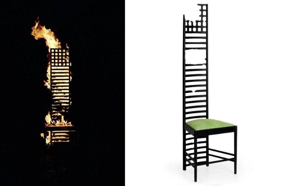 Charles R Mackintosh 1902 Hill House 1 Chair
