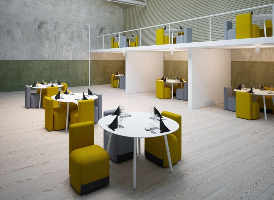 Colorful and bright Season chairs from the designer Piero Lissoni for the brand Viccarbe 2