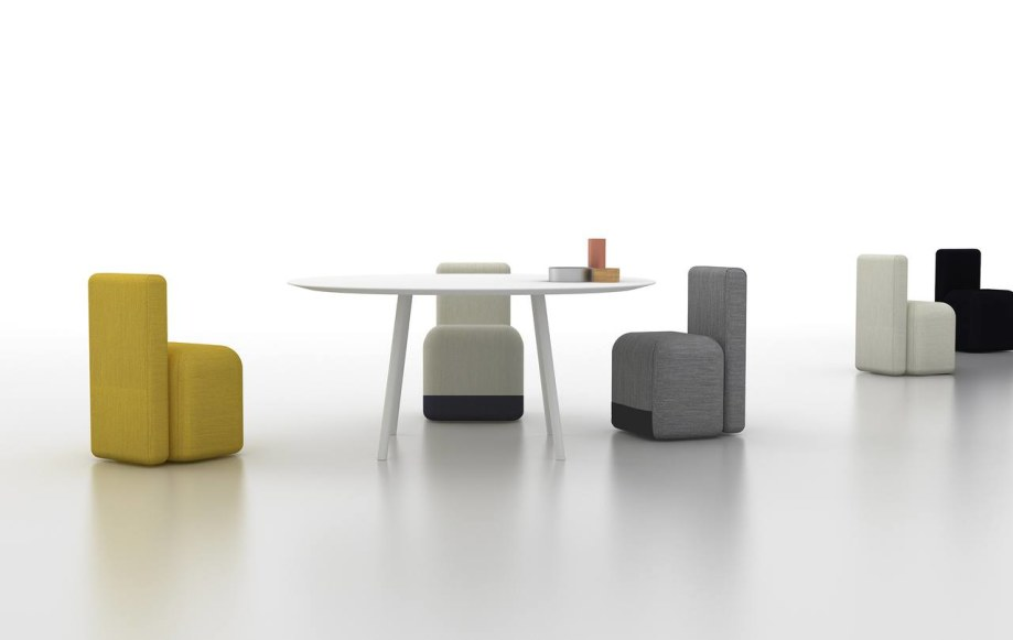 Colorful and bright Season chairs from the designer Piero Lissoni for the brand Viccarbe 3