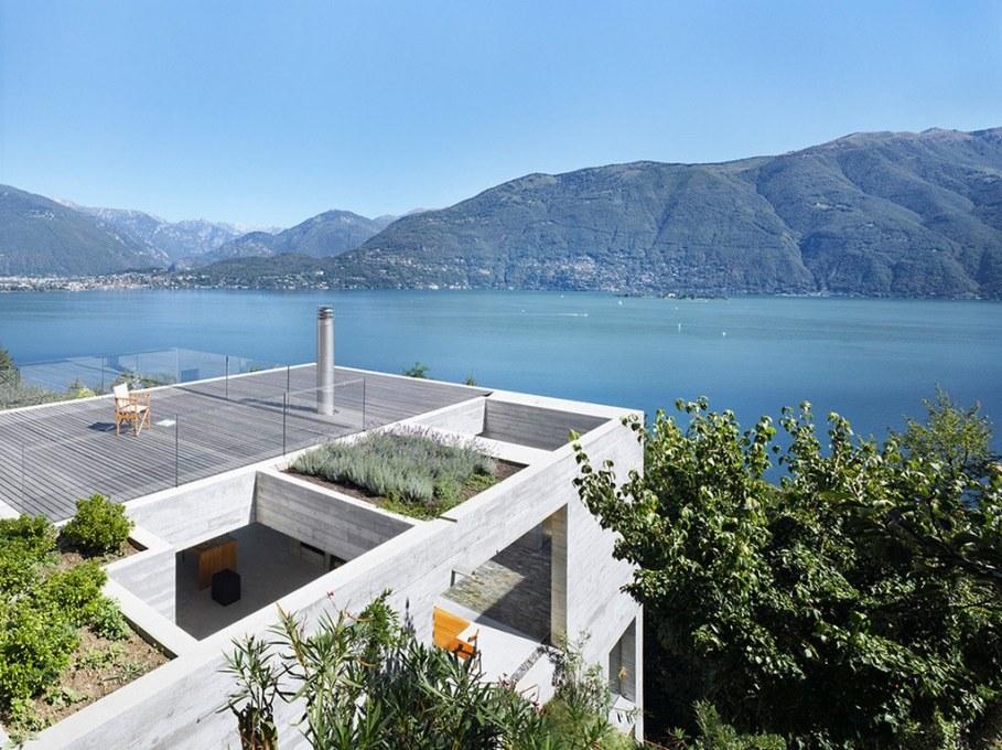 Concrete-Made House From Wespi de Meuron 12