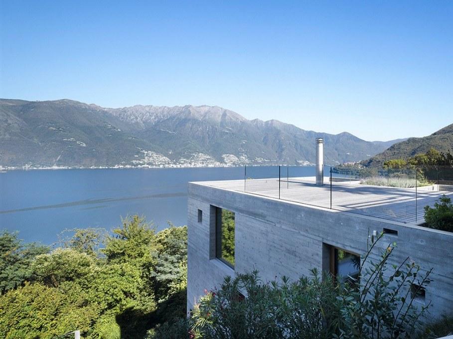 Concrete-Made House From Wespi de Meuron 13