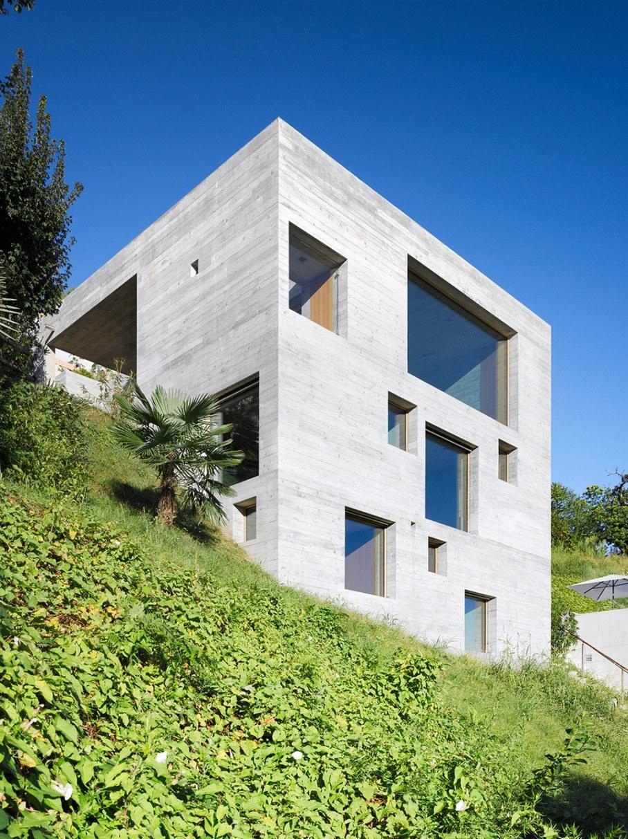 Concrete-Made House From Wespi de Meuron 14