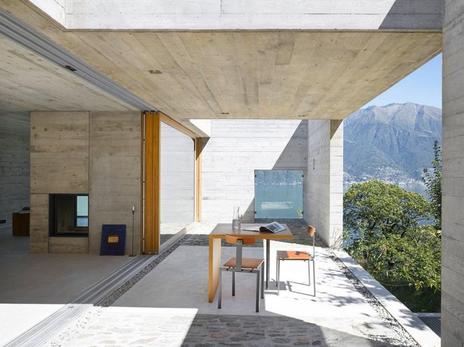 Concrete-Made House From Wespi de Meuron 2