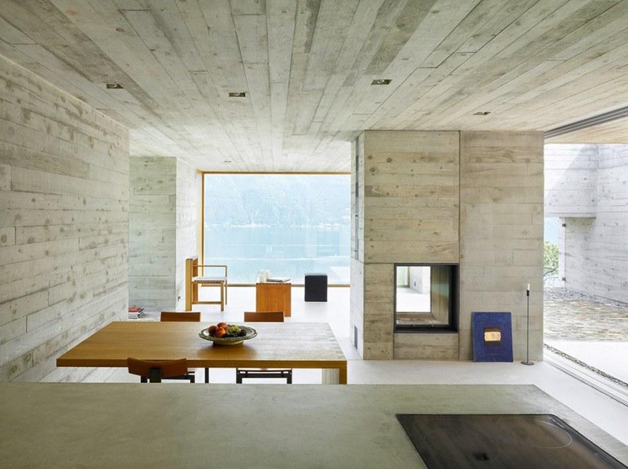 Concrete-Made House From Wespi de Meuron 4