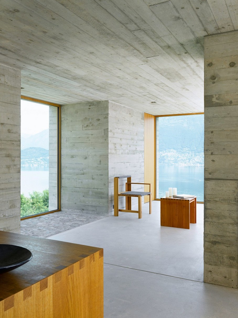 Concrete-Made House From Wespi de Meuron 5