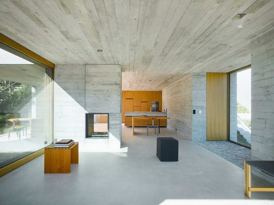 Concrete-Made House From Wespi de Meuron 7