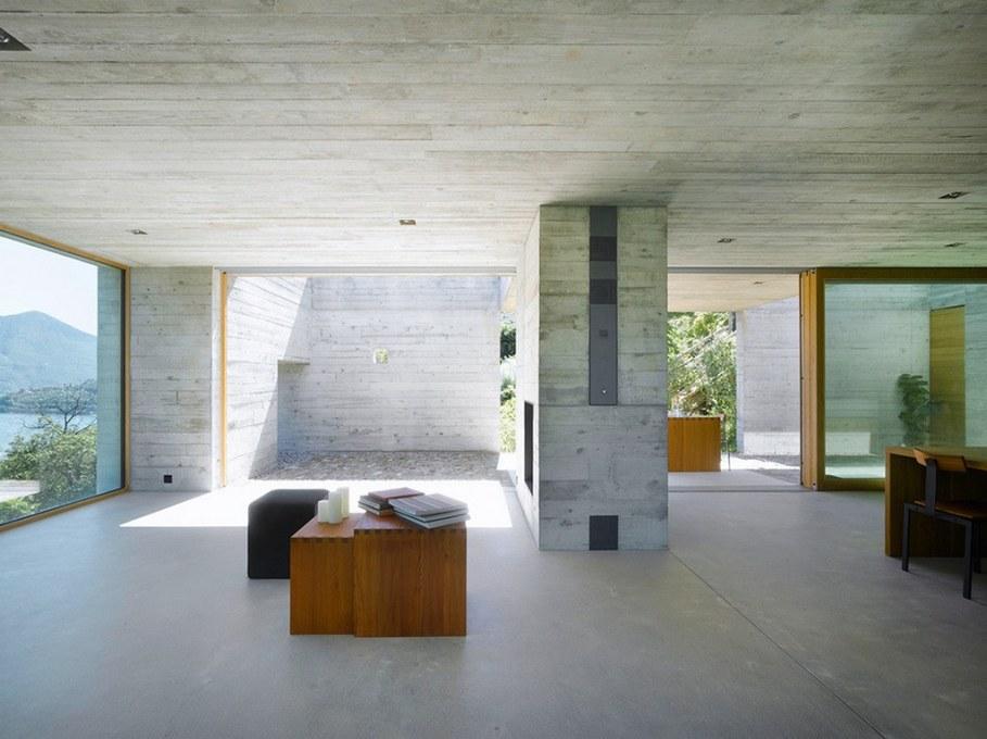 Concrete-Made House From Wespi de Meuron 8