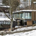 Country house:Austrianchaletwithamazinginteriormadeofconcrete,woodandglass