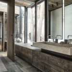 Country house:Austrianchaletwithamazinginteriormadeofconcrete,woodandglass