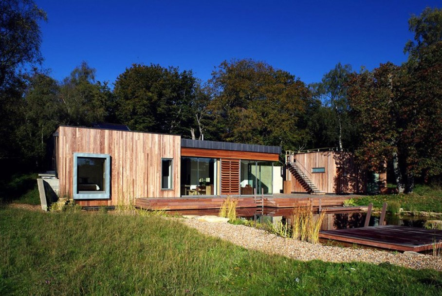 Country house in the New Forest National Park in the UK 13