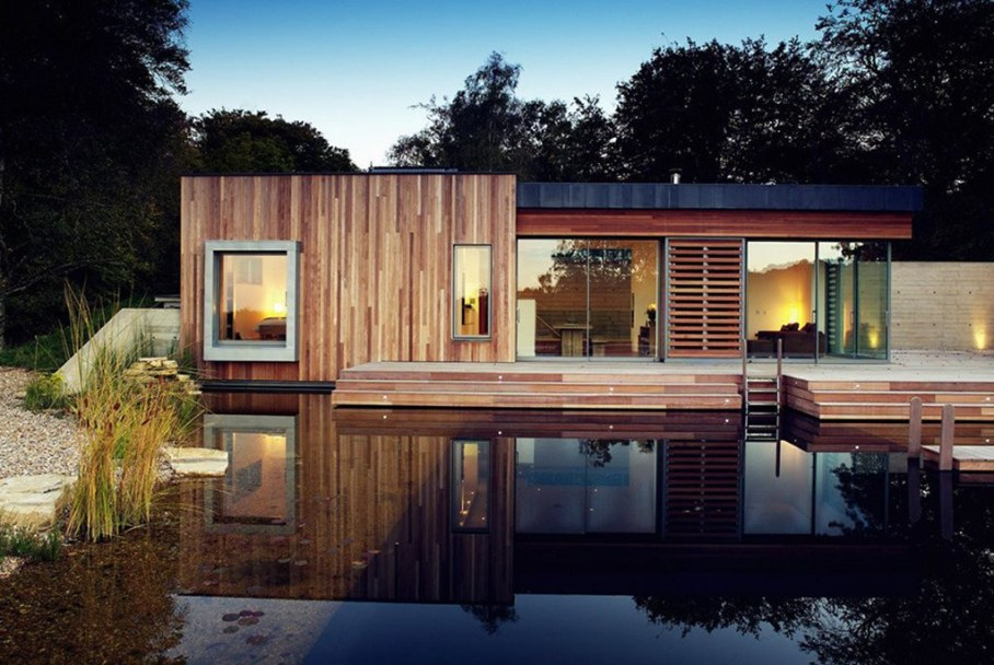 Country house in the New Forest National Park in the UK 2