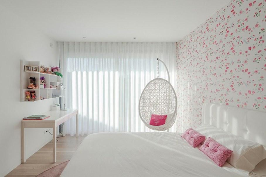 Уютный Дом Для Семьи С Детьми В Португалии-Спальня