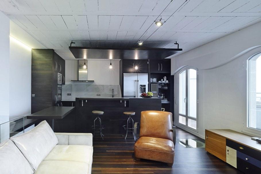 Duplex apartment by Ameneiros Rey HH Arquitectos in Spain 4