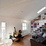 Functional loft for comfortable life and work in London