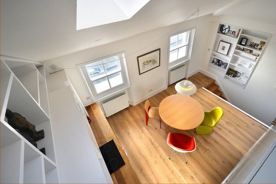 Functional loft for comfortable life and work in London 9