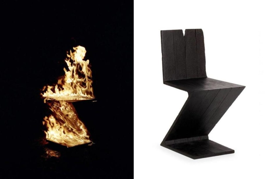 Gerrit T. Rietveld 1934 Zig Zag Chair