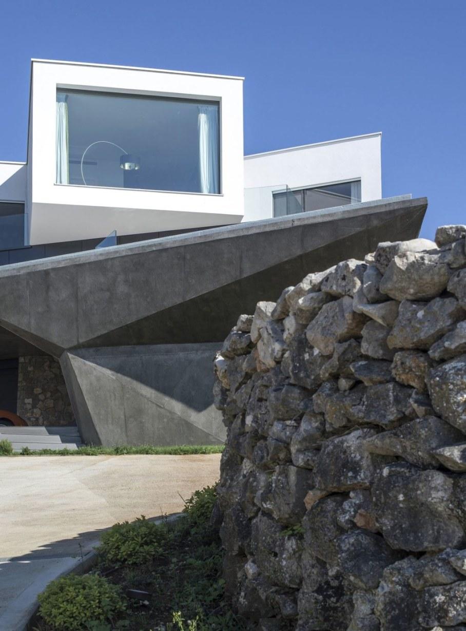 Gumno house - facade 2