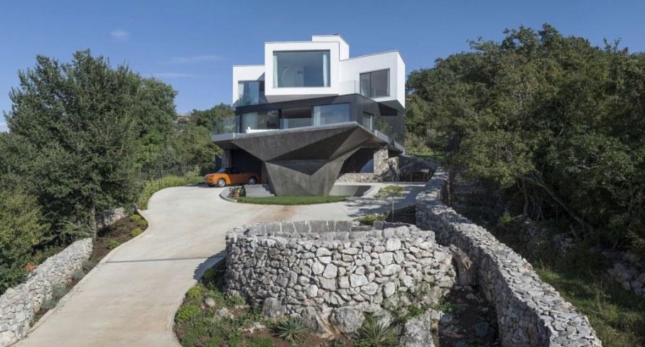 Gumno house - facade