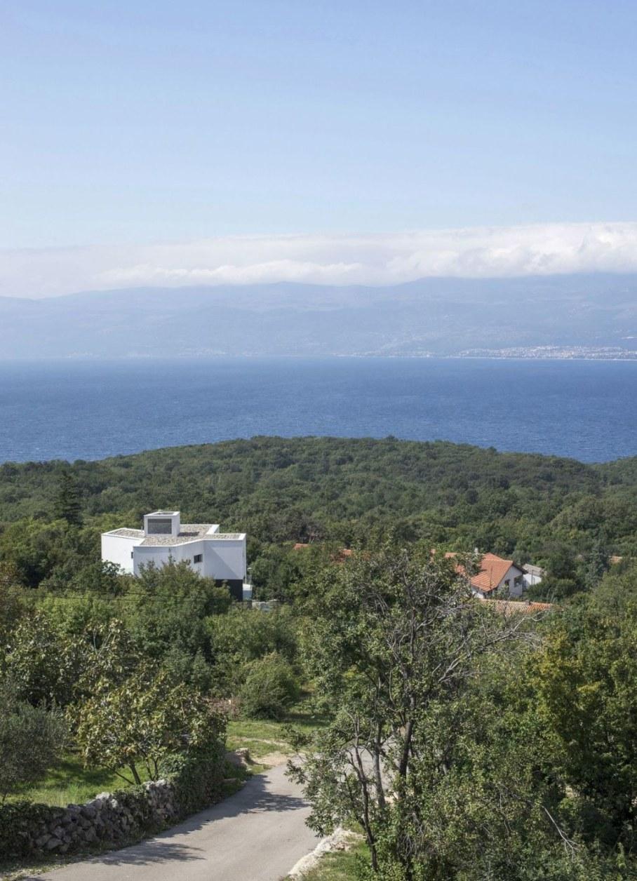 Gumno house - seascape