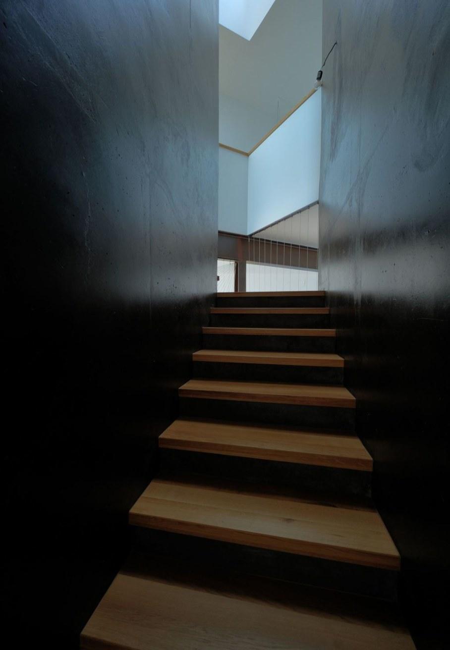 Gumno house - staircase