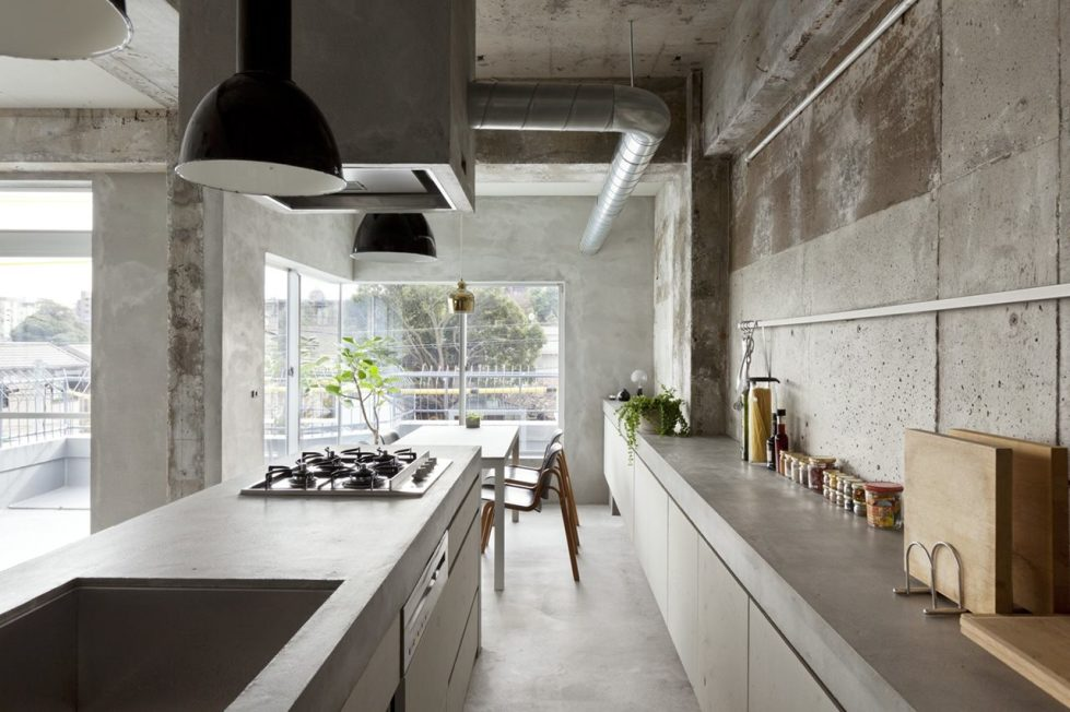 Interior Design A Concrete Apartment