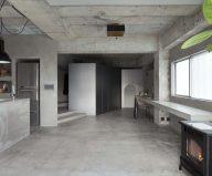 Interior design: a concrete apartment