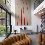 Interior design: luxurious townhouse in New York with two terraces