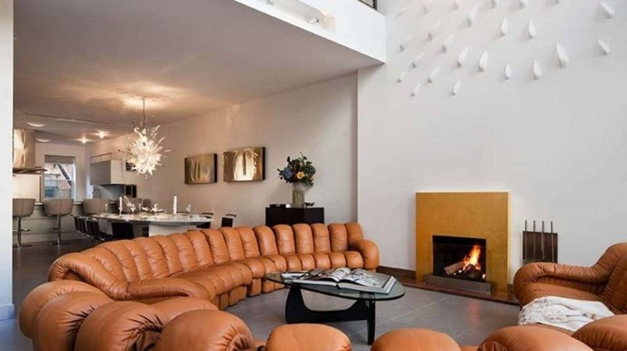 Luxury townhouse in New York - living room