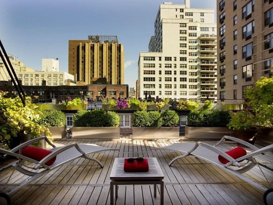 Luxury townhouse in New York - terrace 1