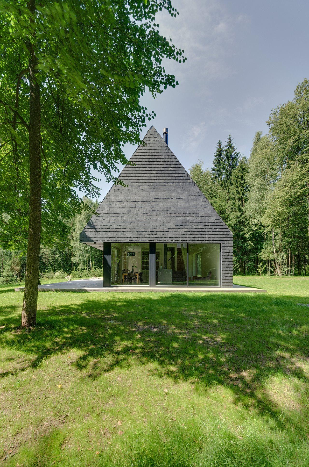 Modern Lithuanian Rural House