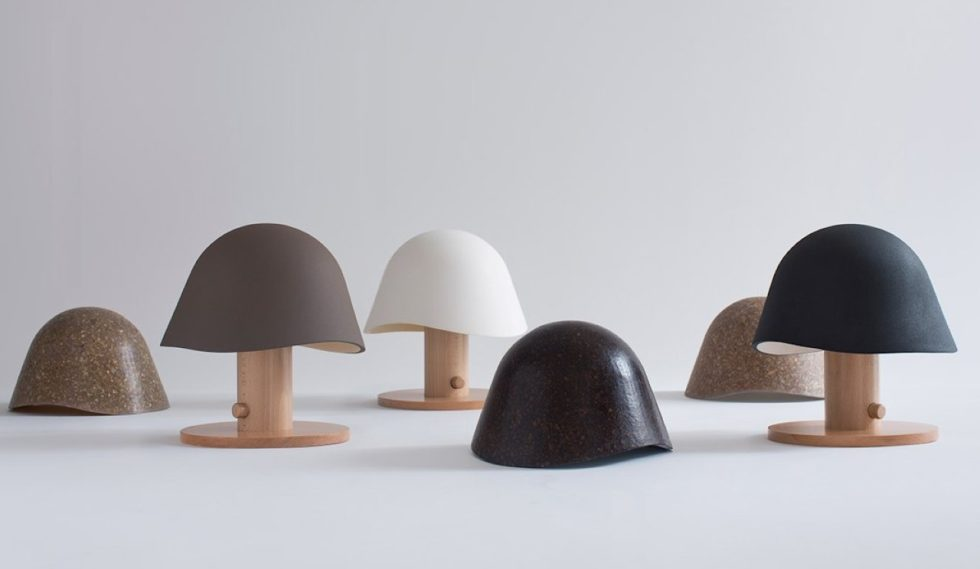 Mush Lamp - a portable table lamp - all color