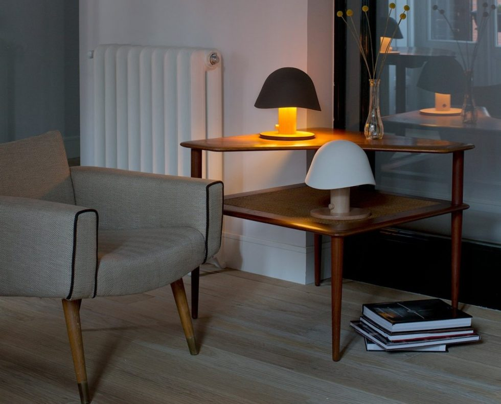 Mush Lamp - a portable table lamp - all color - in interior