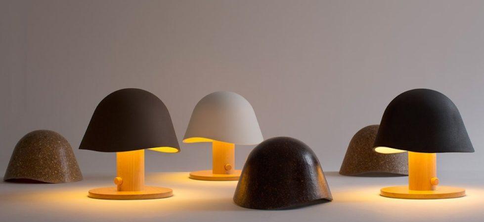 Mush Lamp – a portable table lamp