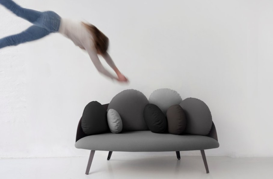 Nubilo - a miniature sofa in a cloud shape - soft