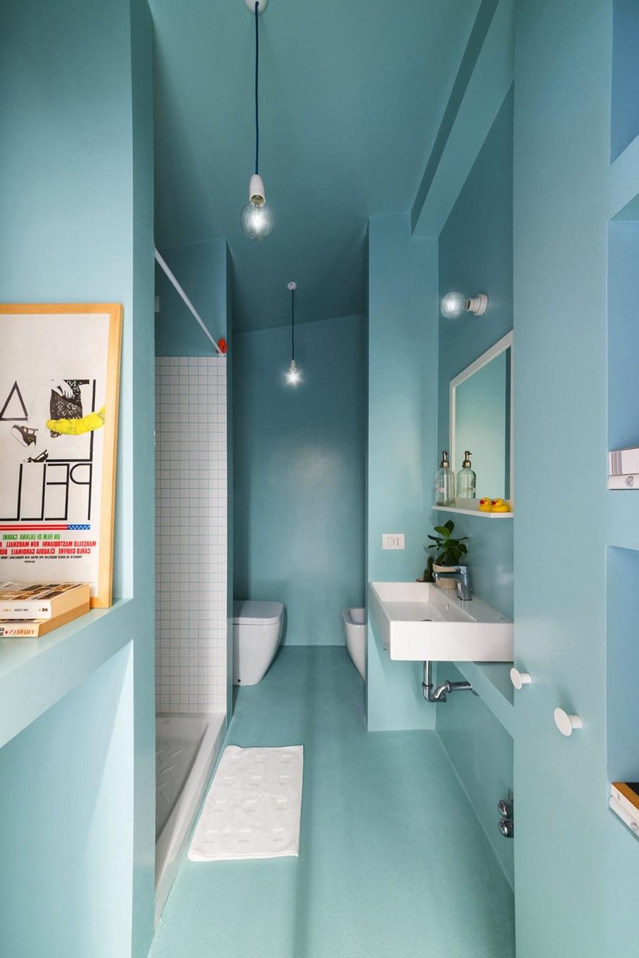 OCS Batipin Flat Transformer Apartment In Milan - Bathroom