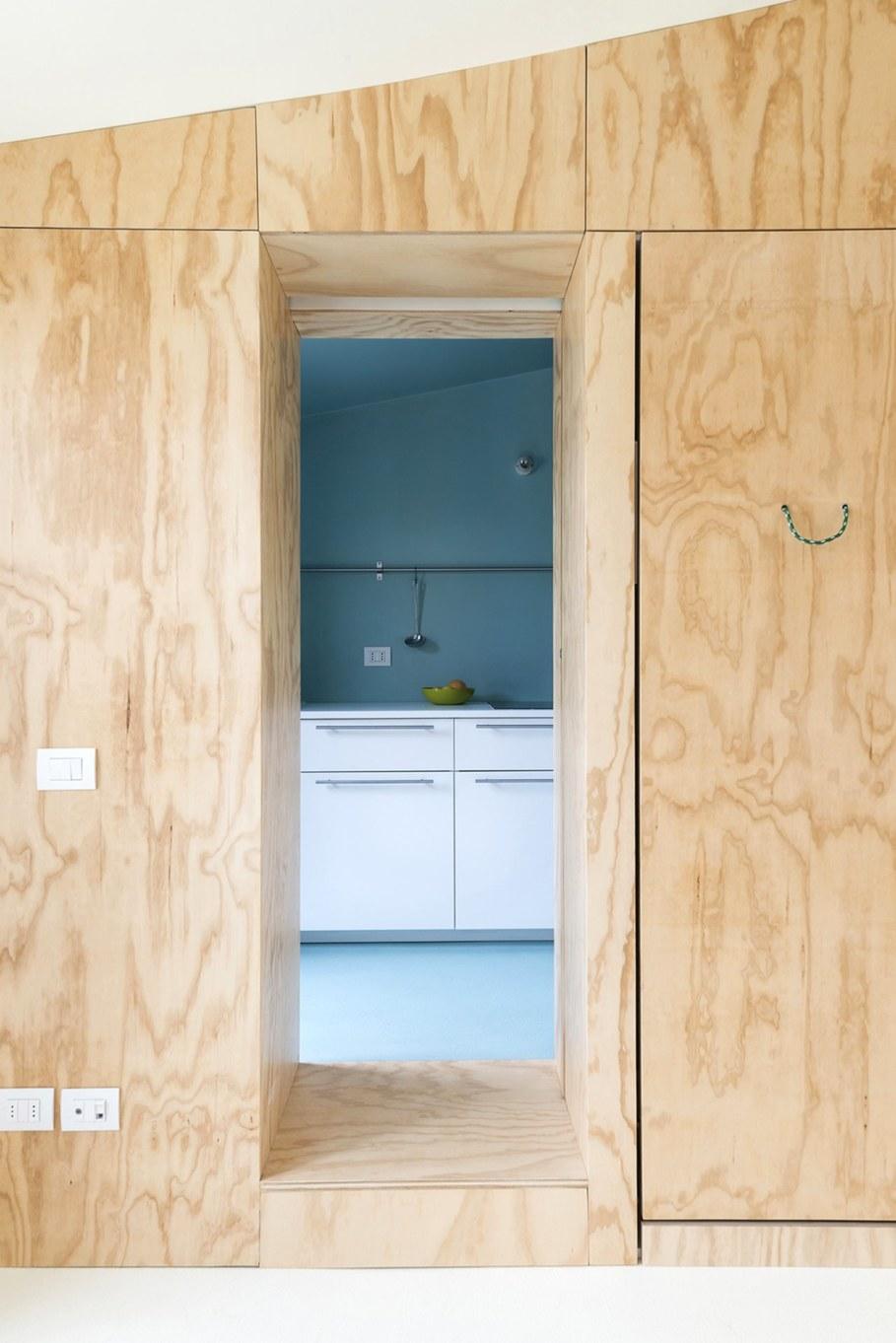 OCS Batipin Flat Transformer Apartment In Milan - Design ideas