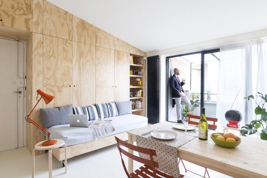 OCS Batipin Flat Transformer Apartment In Milan - Dining place