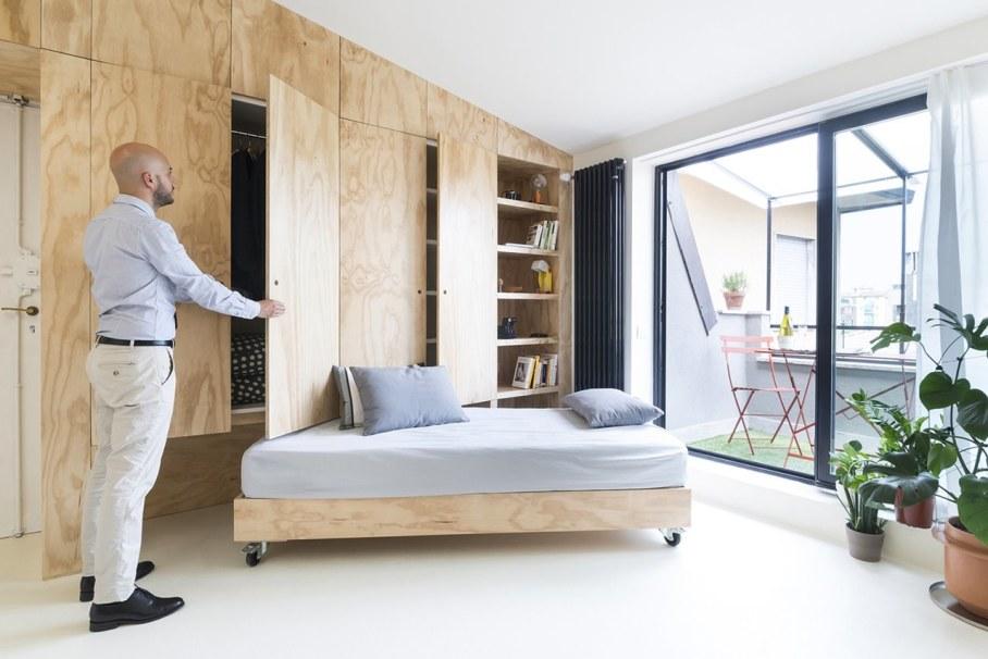 OCS Batipin Flat Transformer Apartment In Milan - Interior design ideas